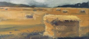 hay-painting