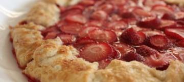 strawberry-galette