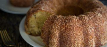 Snickerdoodle Apple Rum Cake