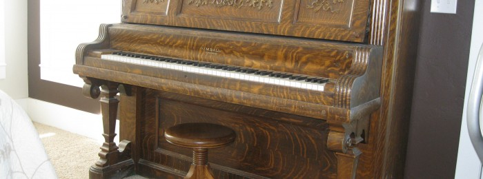 My Antique Piano