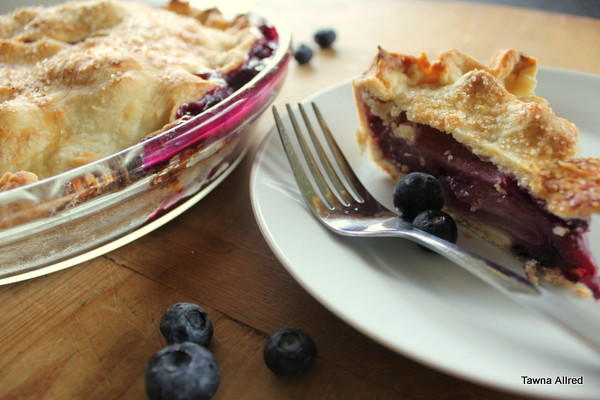 blueberry-apple-pie