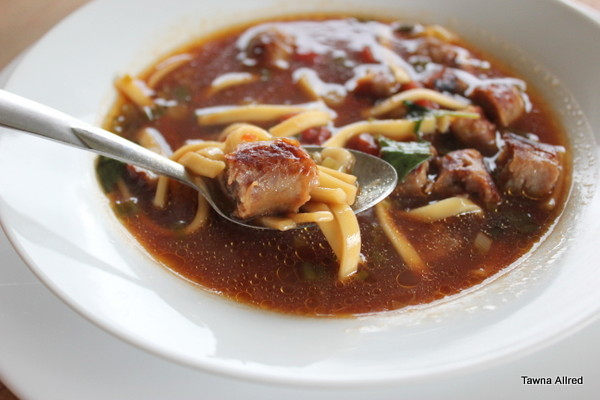 sausage-minestrone-soup