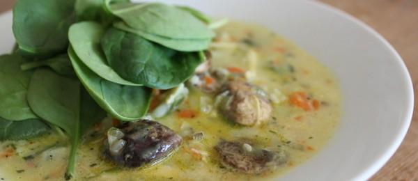 Mushroom and Wild Rice Soup