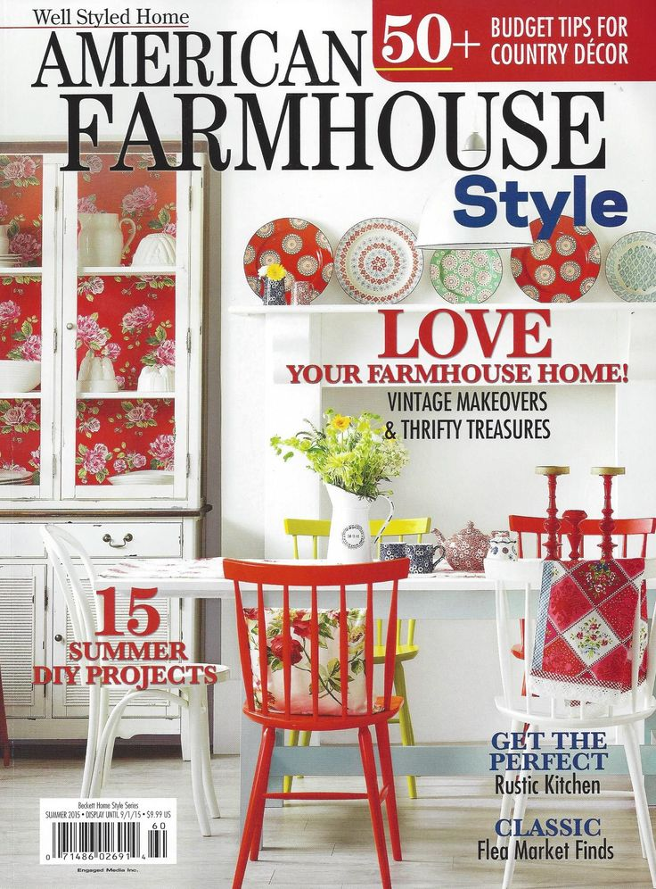 American Farmhouse Magazine Cover