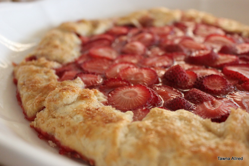 strawberry-galette