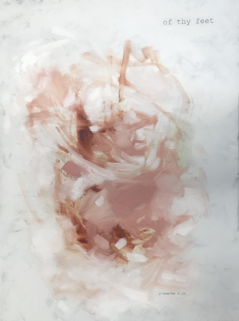 Blush Abstract