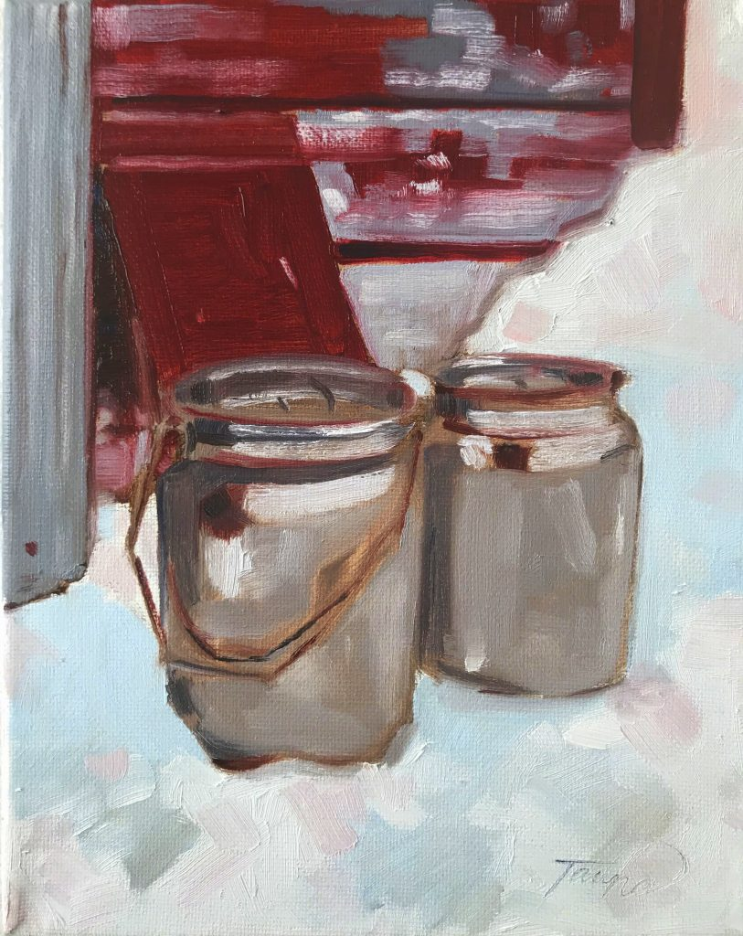 Milk Can Painting