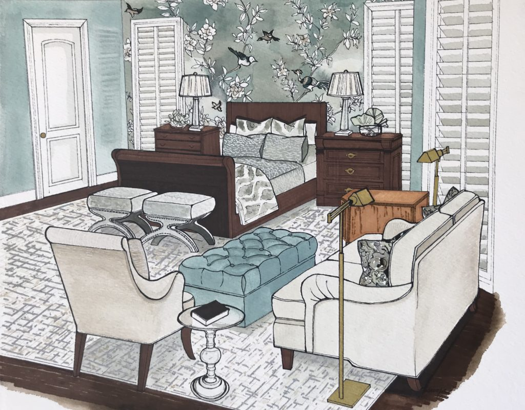 Interior Design Renderings